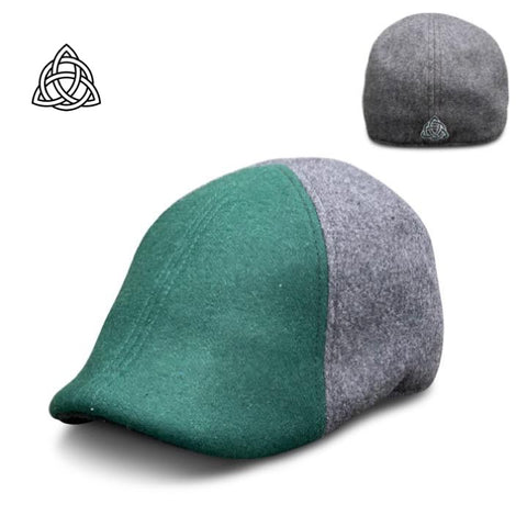 The 'TRINITY' Boston Scally Cap - Clover & Ash