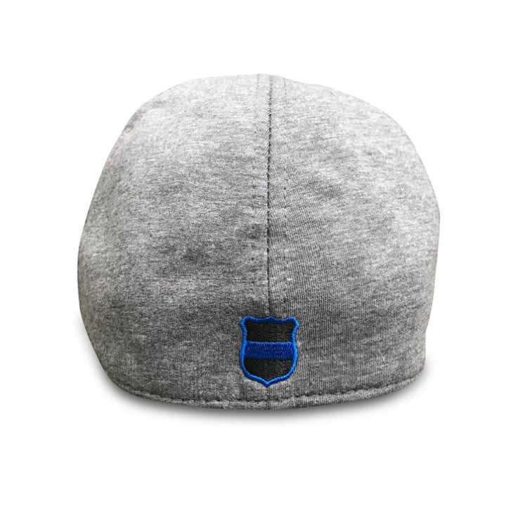 The Responder  Classic Grey Scally Cap - Police - Boston Scally Co ... 9b02bbb52fba
