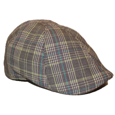 'The Jetty' Scally Cap - Captain's Plaid