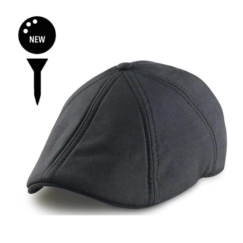 'The Caddy' Boston Scally Cap - Black