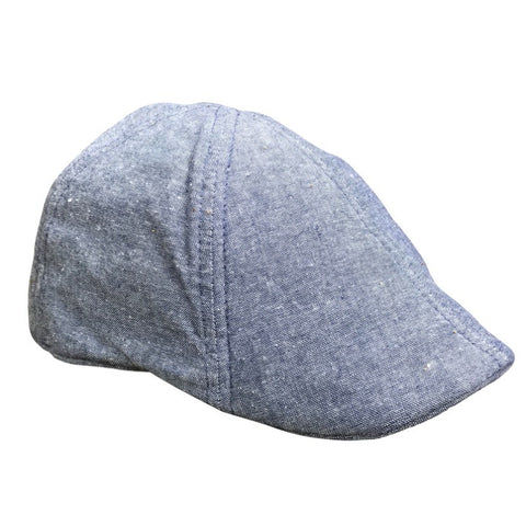'The Jetty' Scally Cap - Blue Stone