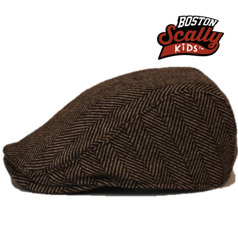 "Boston Scally Kids ""Original"" Brown"