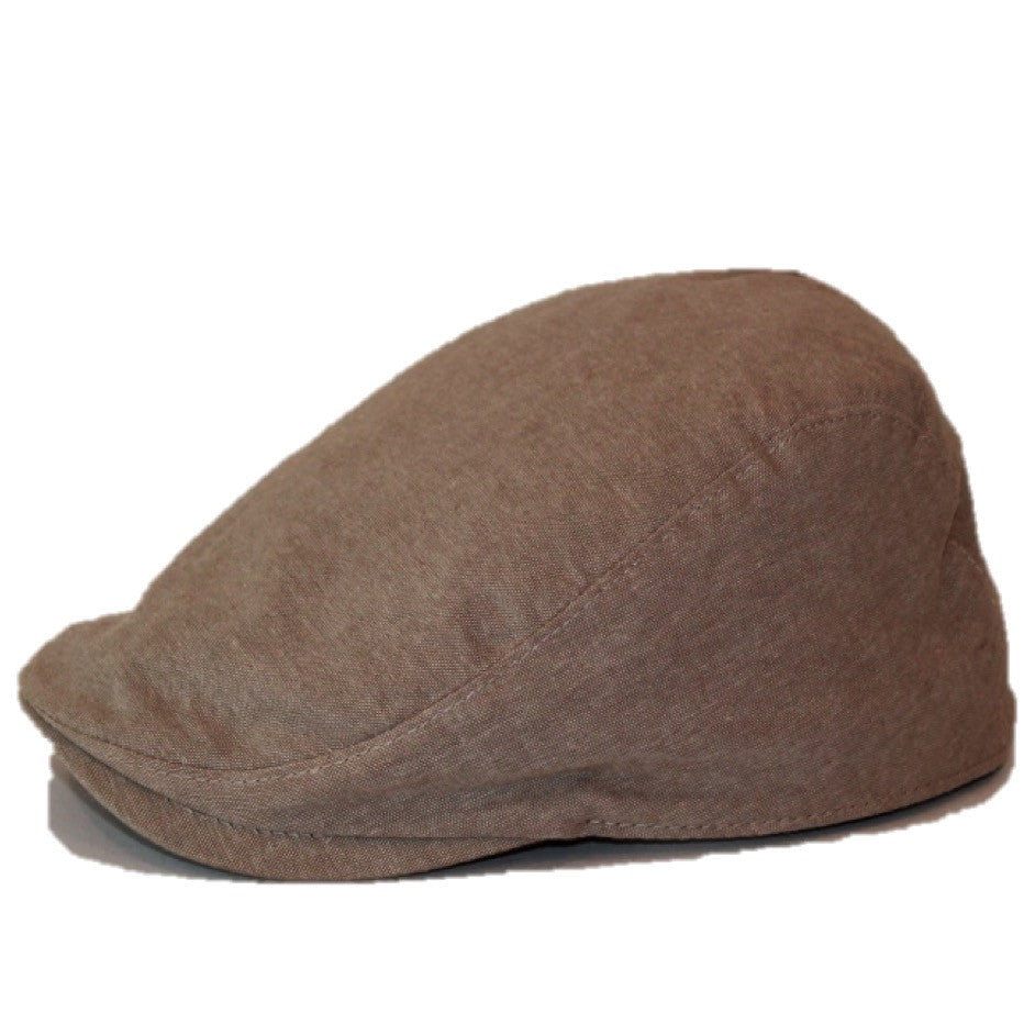 'The Townie' Scally Cap -Light Tan