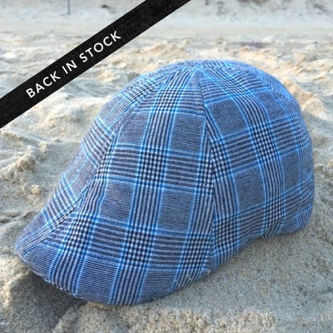 'The Jetty' Scally Cap - Cape Cod Plaid