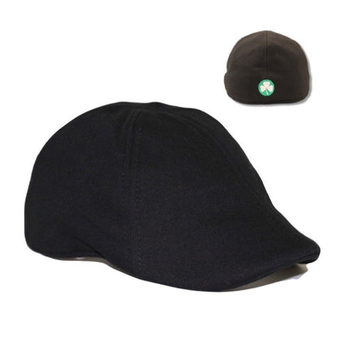 'The Dubliner' Scally Cap - Black