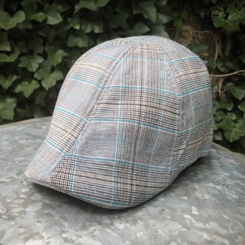 *NEW* 'The Jetty' Scally Cap - Back Deck Plaid