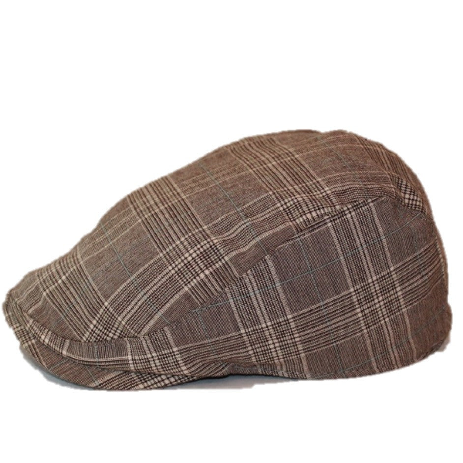 'The Townie' Scally Cap - Plaid