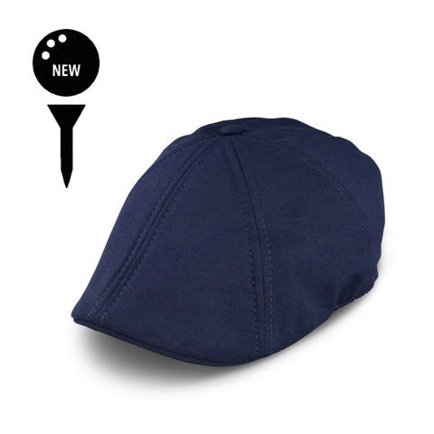 'The Caddy' Boston Scally Cap - Mariner Blue