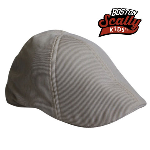 "Boston Scally Kids ""Seersucker"" Beige"
