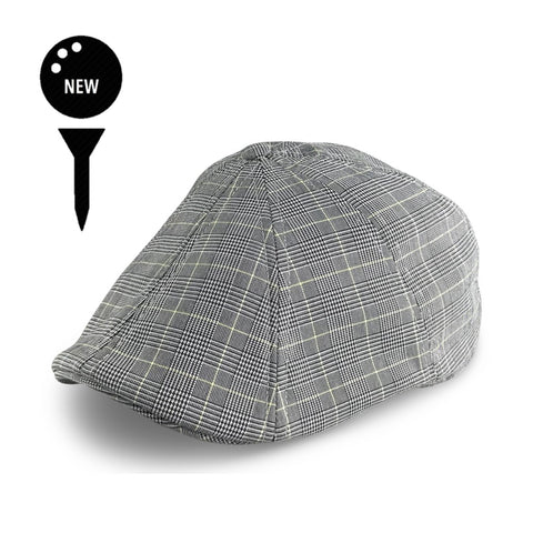 'The Caddy' Boston Scally Cap - Fairway Plaid