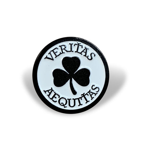 Boston Scally 'Veritas Aequitas' Cap Pin *PRE-ORDER*