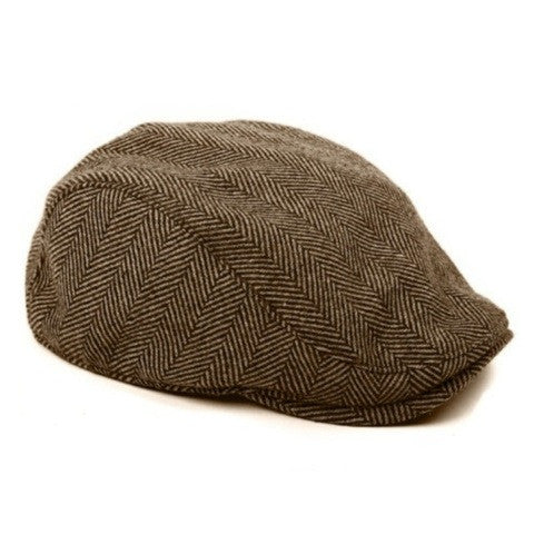 The Original Boston Scally Cap-Brown