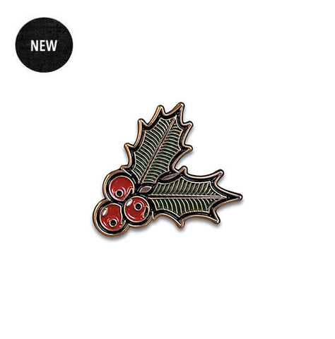 Boston Scally 'Holly' Cap Pin