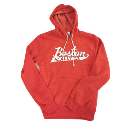 Boston Scally Co. Red Hoodie