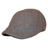 'The Kenmore' Scally Cap - Allston Grey with Black Brim