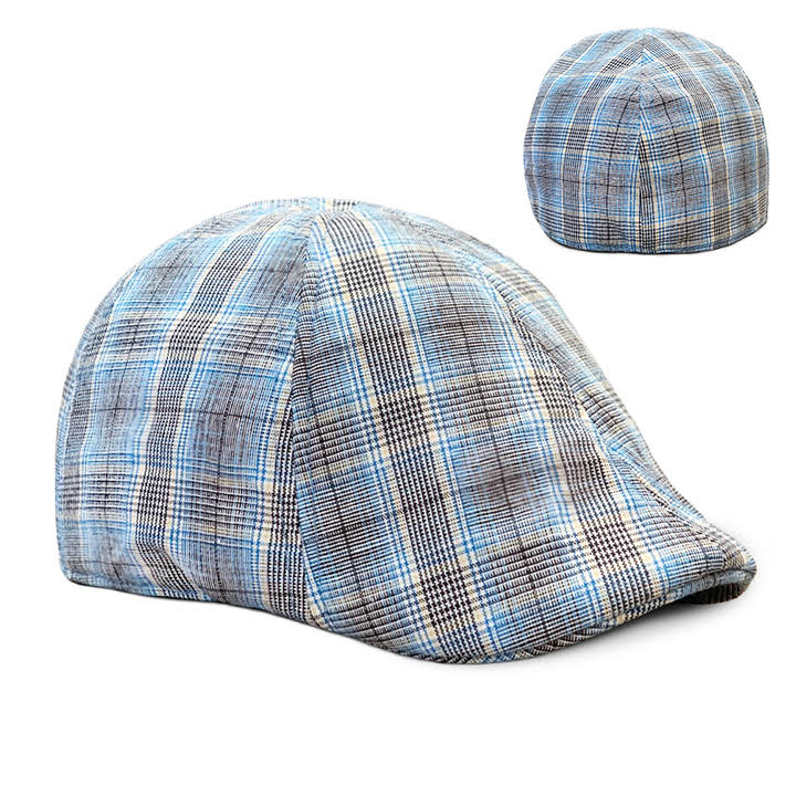 The 'Back Deck' Plaid Boston Scally Cap