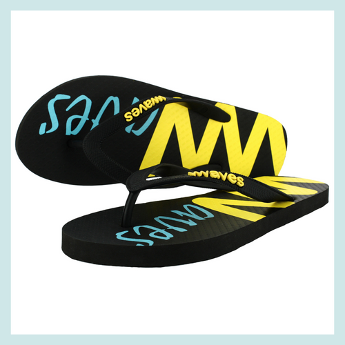 100% Natural Rubber Flip Flop – Printed