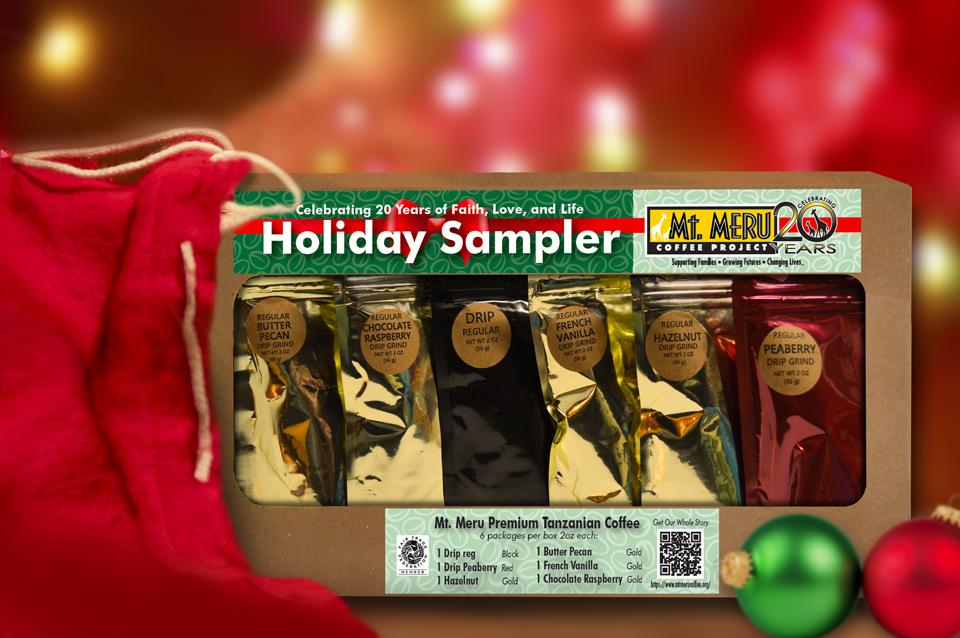 Holiday Premium Coffee Sampler