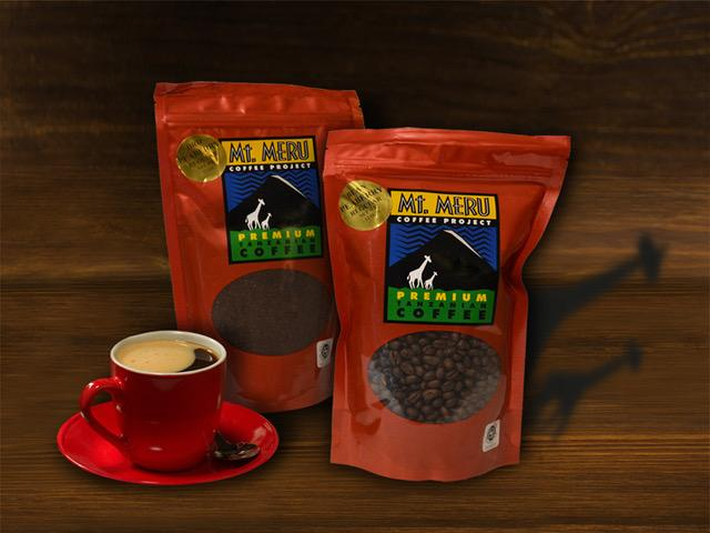Mt Meru Premium Peaberry Coffee