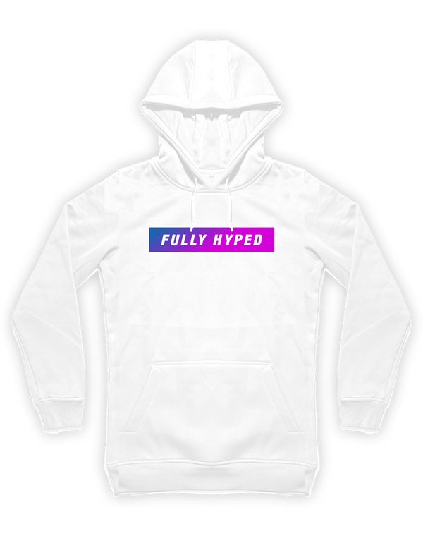 FULLY HYPED - FH20-1 - Hoodie - Wit