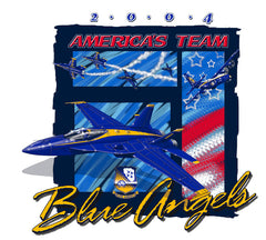 Blue Angels 2004 Adult Tee