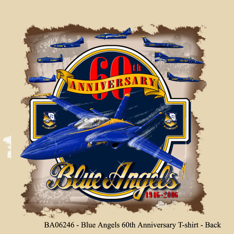Blue Angels 60th Anniversary Adult Tee