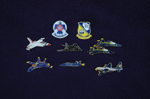 Blue Angels Solo Approach Pin
