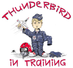 Thunderbird in Training Tee (Toddler)