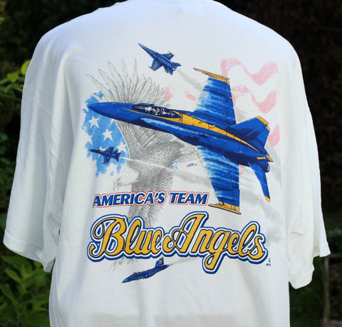 Blue Angels Eagle Adult Tee
