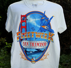Blue Angels San Francisco 2012 Youth Tee Shirt
