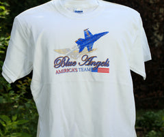 Blue Angels Wings Youth Tee Shirt