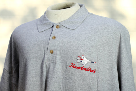 Thunderbird Solo Gray Polo