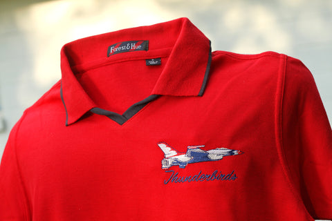 Thunderbird Solo Ladies V Neck Polo