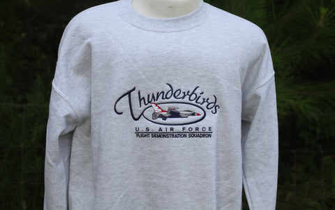 Thunderbird Oval Adult Sweatshirt