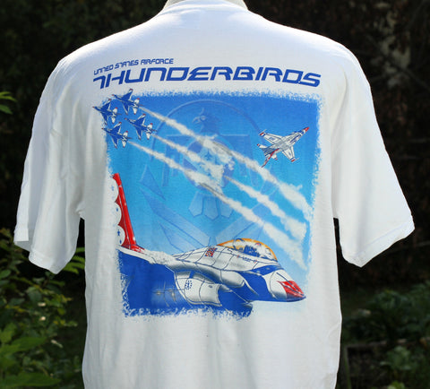 Thunderbird Collage Adult Tee Shirt