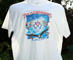 Thunderbird Air Force WIngs Crest Youth Tee Shirt