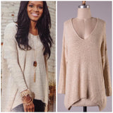 Simply Bliss Sweater-Beige
