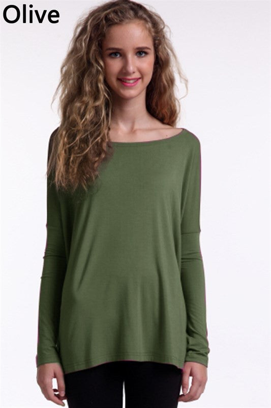Piko-All You Need Top-Olive