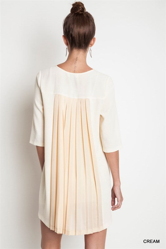 Midnight Goddess Dress-Cream