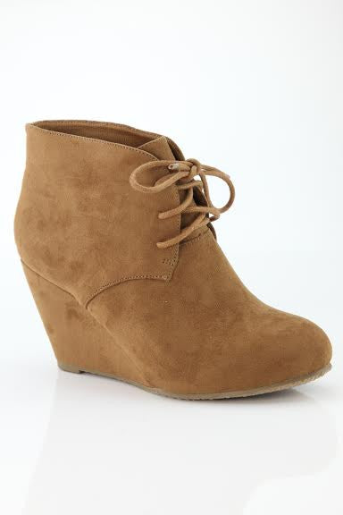 Basic Needs Bootie-Camel