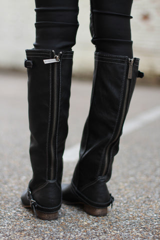 Outlaw Boots-Black