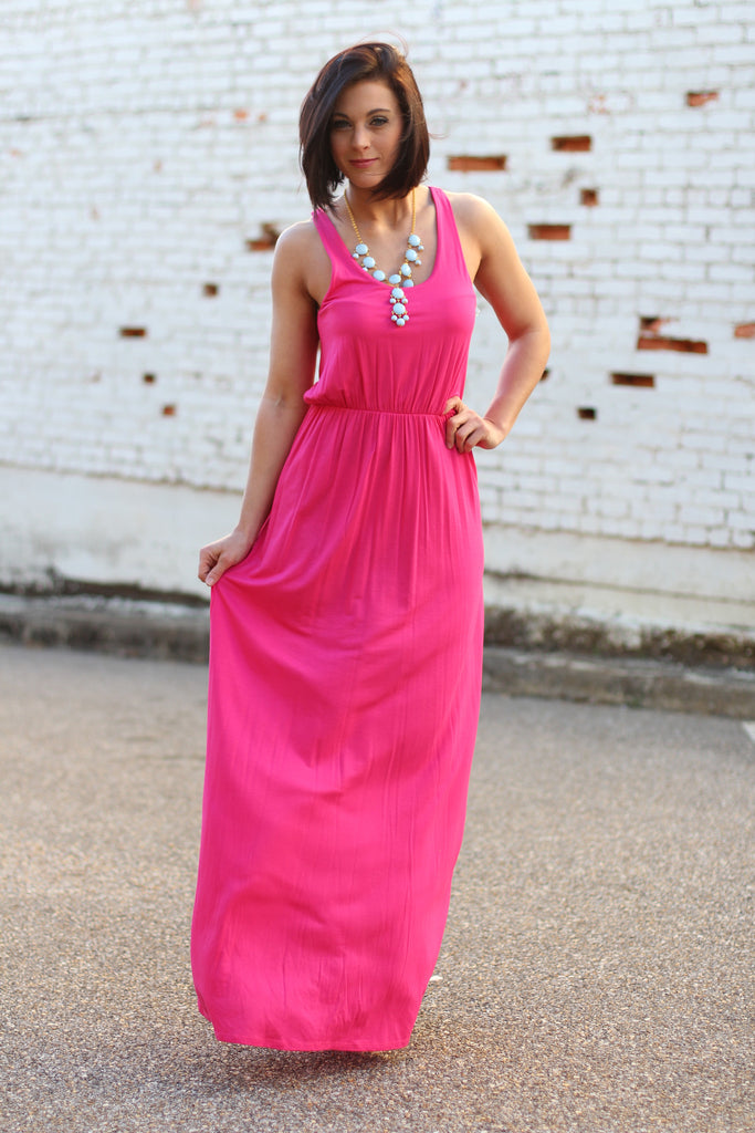 Speed Racer Maxi-Fuchsia