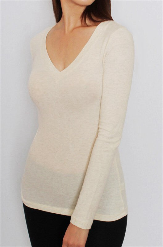 Basic Long Sleeve Top (MULTIPLE COLOR CHOICES)