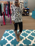 Animal Print Dolman