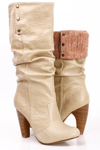 Made For Walking Boots-Beige