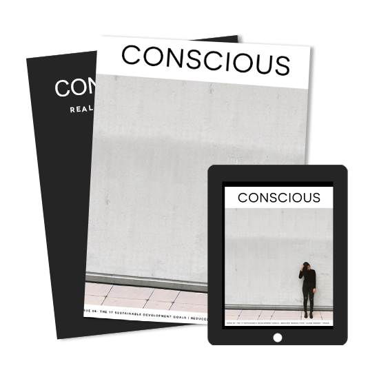 International Conscious Membership + Print Subscription