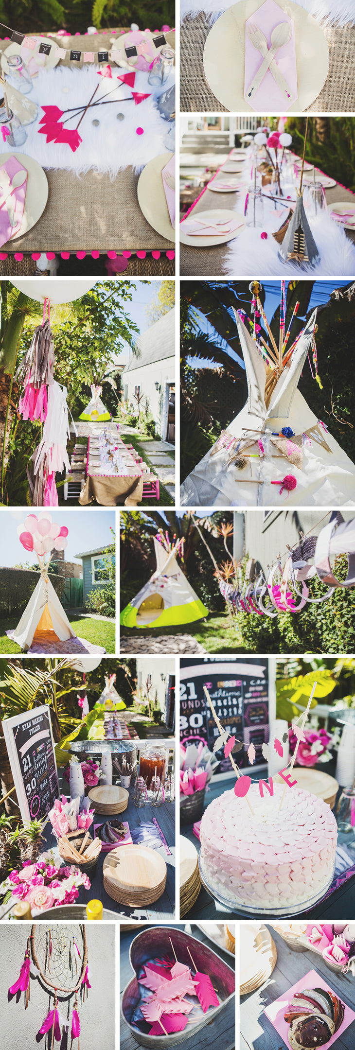 teepee party lookbook