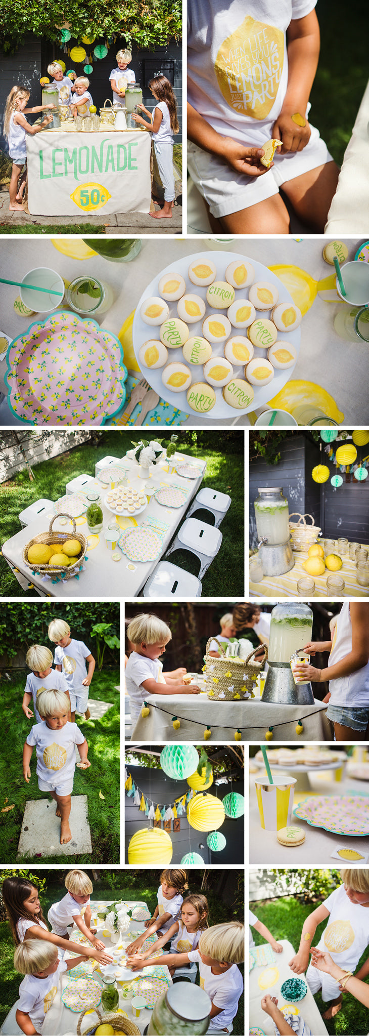 lemonade party lookbook