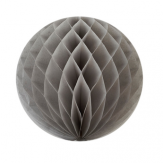 5'' grey honeycomb ball