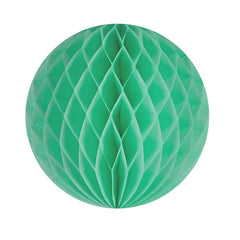 "12"" frosted mint honeycomb ball"